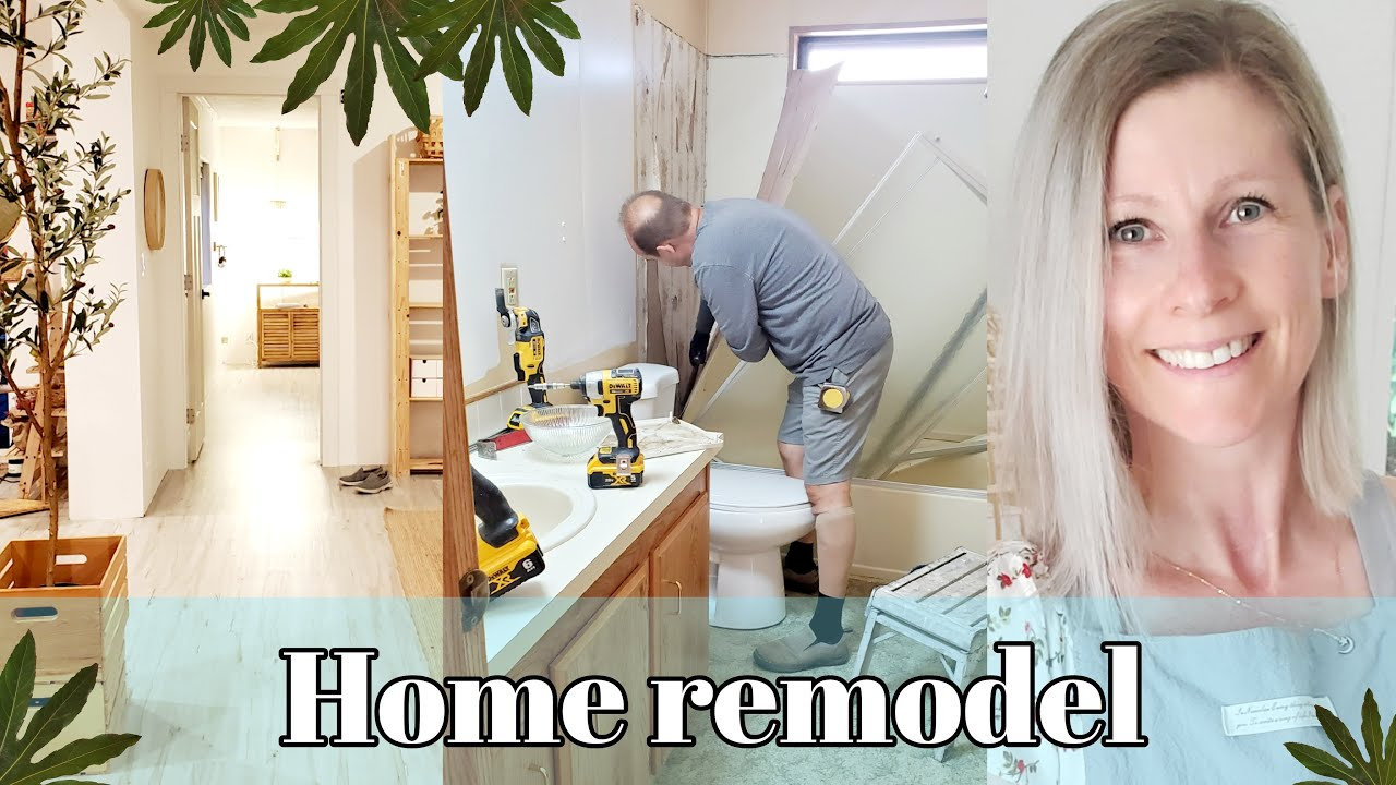 REMODELING-DEMO DAY--IKEA -FIXER UPPER-SCANDISH HOME