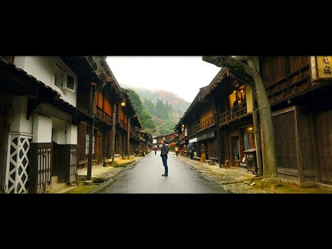 A Rainy Day in Magome and Tsumago (馬籠 妻籠) | A Travel Film