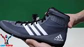 Детские боксерки Adidas KO Legend 16.2 черно-оранжевые - YouTube