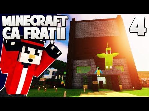 NOUA MEA VILA si NOII MEI PAPAGALI! - Minecraft Ca Fratii [Ep.4]