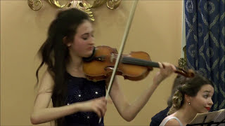 Mendelssohn Bartholdy - Sonata in F major (3rd Mvt) - Emma Arizza e Ana Bursac