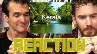 Kerala Tourism Video American Reaction
