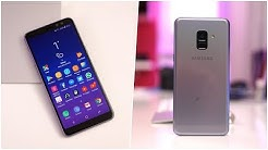 Review: Samsung Galaxy A8 2018 (Deutsch) | SwagTab