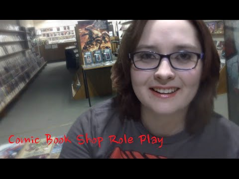 [ASMR] Comic Book Shop RP- Female Comic Characters