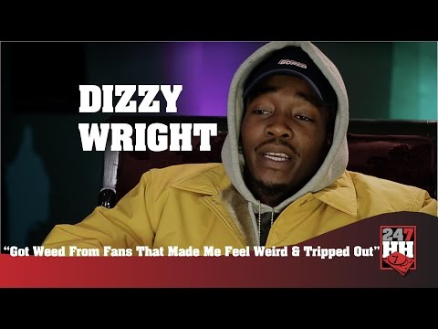 Dizzy Wright - Got Weed From Fans That Made Me Feel Weird & Tripped Out (247HH Wild Tour Stories)