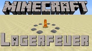 ᴴᴰ{Einrichtung} #001 -LAGERFEUER- Minecraft 1.8