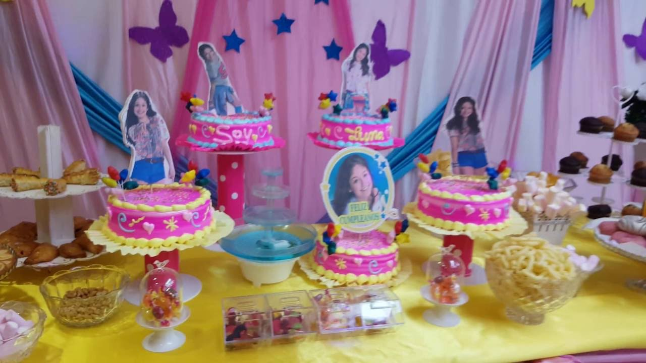 Decoracion soy luna youtube - Sol y luna decoracion ...