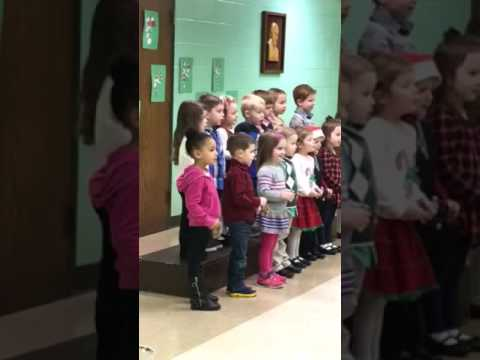 Christmas Program at St Marys Preschool