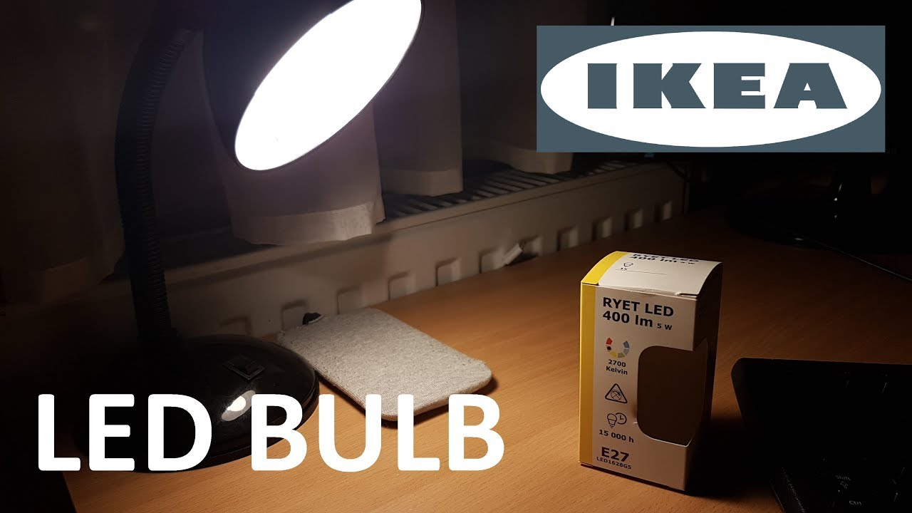 Ikea led bulb e27 5w 2700k youtube - Ikea led e27 ...