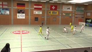 TuS Traunreut U12 Hallenmasters 2015 Spiel 22: TSG 1899 Hoffenheim-1.FC Nürnberg 6:0