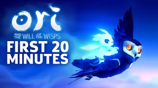 Ori And The Will Of The Wisps - First 20 Minutes Of Gameplay