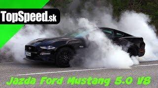 Jazda Ford Mustang 5.0 V8 - TopSpeed.sk Maroš ČABÁK