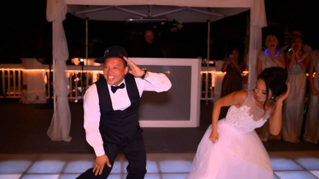 BEST Father Daughter Surprise Wedding Dance To Watch Me Whip Nae
