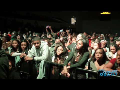 "Backyard Band performs ""Pretty Girls"" live at Bowie State Homecoming Concert"