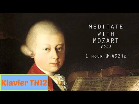Entspannungs Musik Klavier ✿ Meditieren mit Mozart @ 432Hz Classical Piano Vol 1