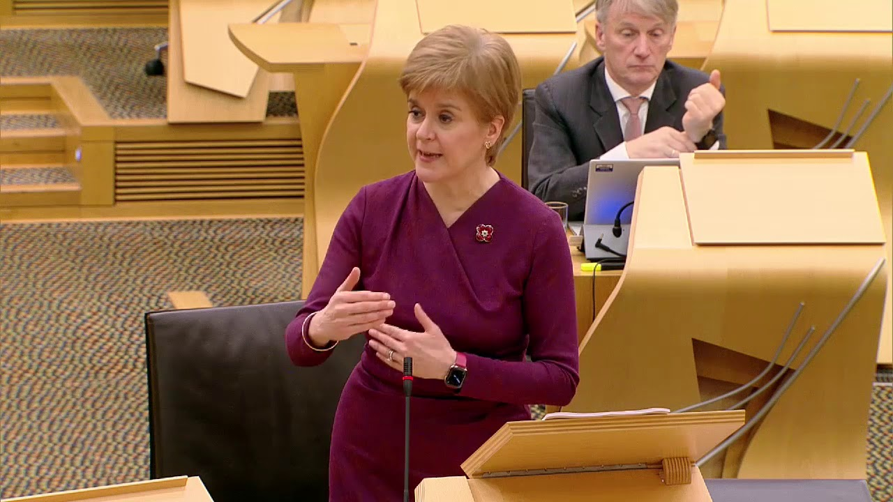 Sturgeon: Back me to 'get on with the job' of COVID recovery