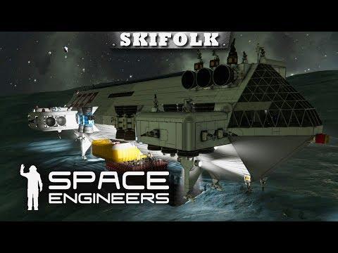УРАНОВОЕ ЧУДО ИНЖЕНЕРНОЙ МЫСЛИ ► SPACE ENGINEERS [1440p]