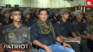 Major Gaurav Arya With Gentlemen Cadet At IMA | Patriot