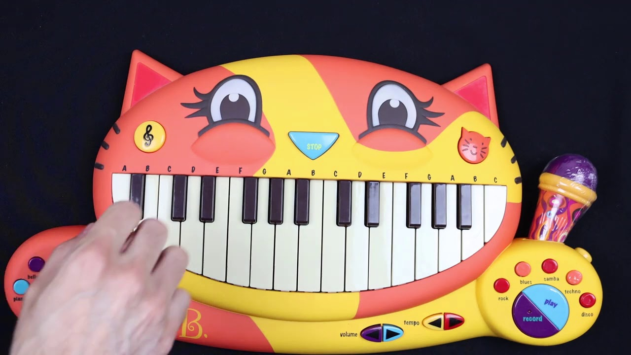 siren head song on cat piano (sound the alarms)