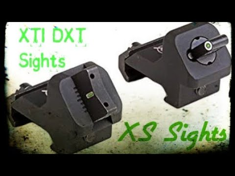XTI DXT Sights| XS Sights
