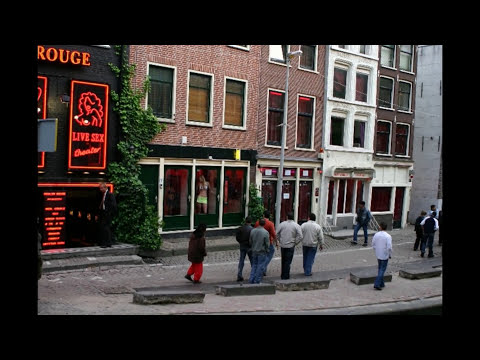 pics of amsterdam red light district