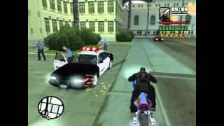 CJ VS policias de MIERDA(LOQUENDO) POR FacasitoXD (Para el torneo de cookgames96)