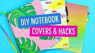 DIY Back to School Notebook Covers & Hacks! 📚 Sea Lemon