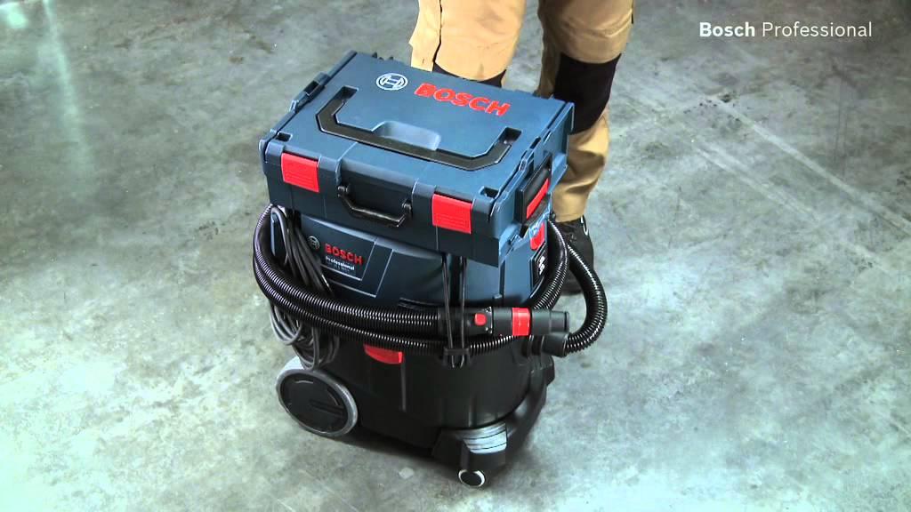 Bosch Nass Trockensauger Gas 35 L Sfc Professional Youtube