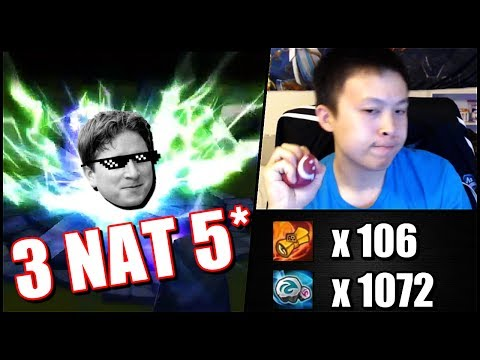 INCREDIBLE!!! 3 NAT 5 in 100ish SCROLLS!!!....but..... - Summoners War - July Stream