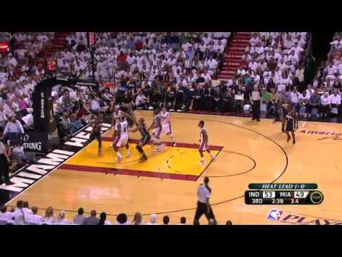 NBA Playoffs 2012: NBA Indiana Pacers Vs Miami Heat Highlights May 15, 2012 Game Recap