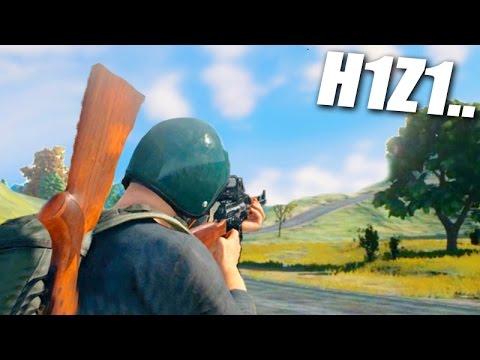 O NOVO H1Z1 LANÇOU!!! (Player Unknown Battlegrounds)