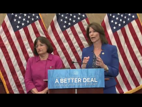 Senate & House Democrats Unveil 'A Better Deal On Universal High-Speed Internet'