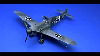 FULL VIDEO BUILD Bf 109F4 MESSERSCHMITT - EDUARD ROYAL CLASS