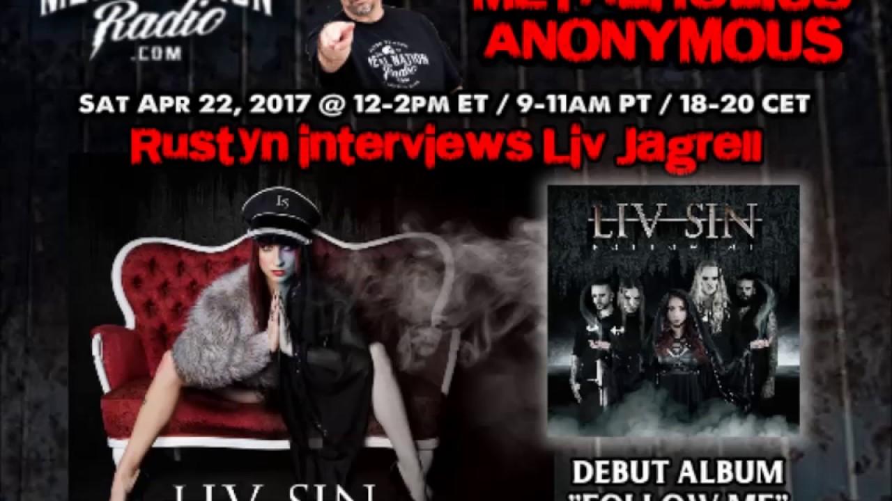 Liv Jagrell of Liv Sin talks debut album Follow Me - YouTube