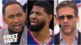 Stephen A. and Max are concerned about the Clippers for different reasons | First Take