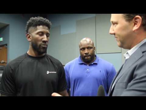 Seattle Seahawks Rookies meet The Barbershop