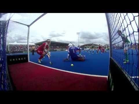 Ireland v England Match Highlights - UNIBET EuroHockey Championships 2015