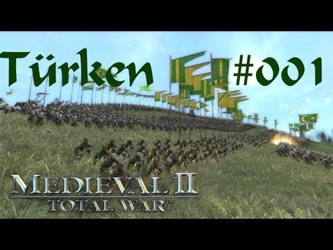 Let's Play: (german) Medieval2 TW (Türken) #001 - Dschihad gegen Jerusalem [Full-HD]
