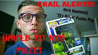 IT'S ALIVE! 1008 Pieces Exclusive Kirk Hammett Funko Pop!!!!