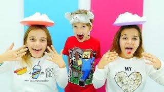 Pamuk Challenge! Eğlenceli çocuk oyunları