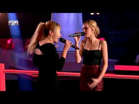 Larisa & Andreea - Chandelier (Sia) - Vocea Romaniei 2014 - Confruntari 3 - Editia 10