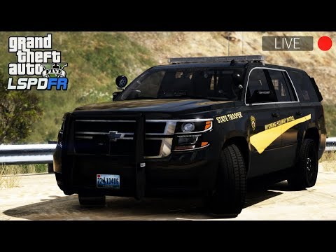 GTA 5 LSPDFR LIVE - Day 59 | Wyoming Highway Patrol (WHP) - Skin Pack by EPICGAMER WALRUS!