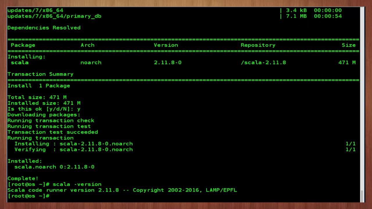 How to Install Scala on CentOS 7