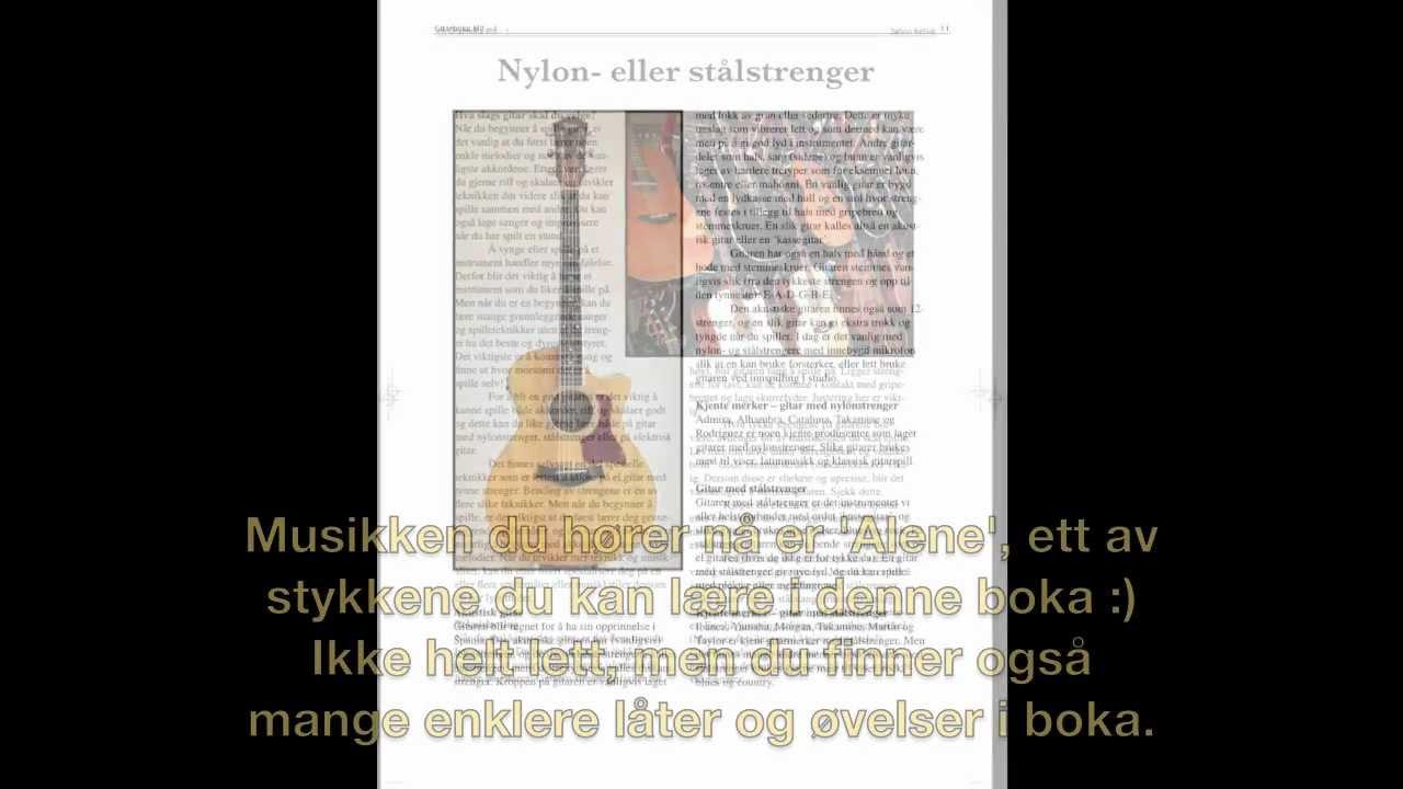 lære å spille gitar selv