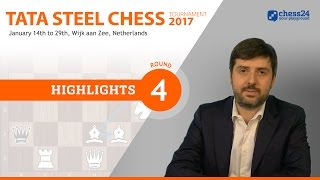 Game of the Day - Carlsen-Wei Yi - 2017 Tata Steel Masters