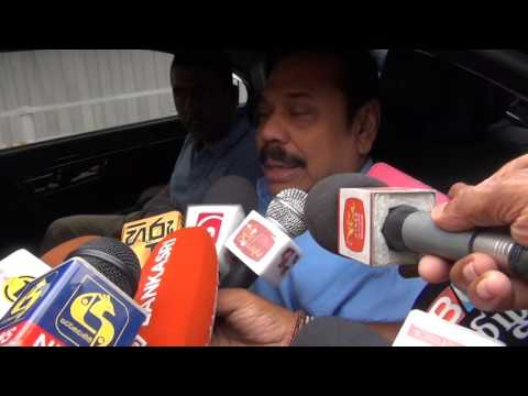 Mahinda Rajapaksha visited to Walikada Prison to see his son