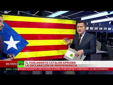 Repercusiones en la comunidad internacional por la independencia de Cataluña