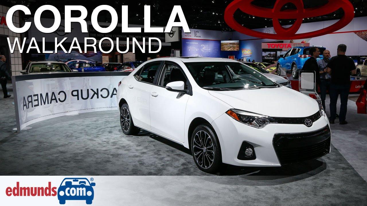 2016 Toyota Corolla Walkaround Review Edmunds