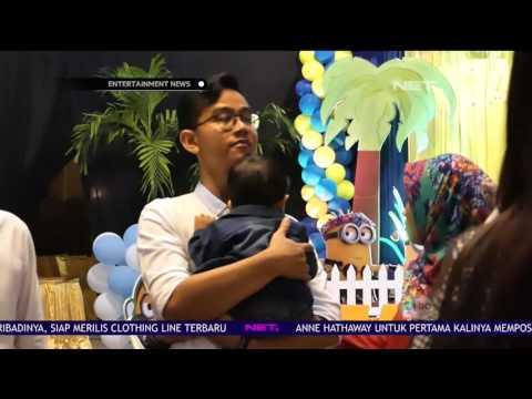 Meriahnya Perayaan Ulang Tahun Cucu Pertama Presiden Jokowi