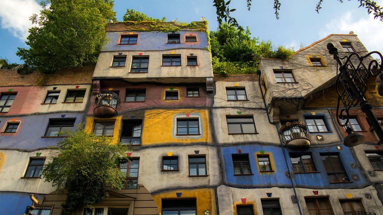 Hundertwasser House Vienna - Austria - 4K - YouTube